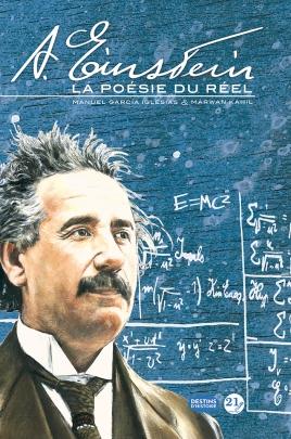 Albert Einstein - La Poésie du Réel Marwan Kahil Manuel Iglesias Couv